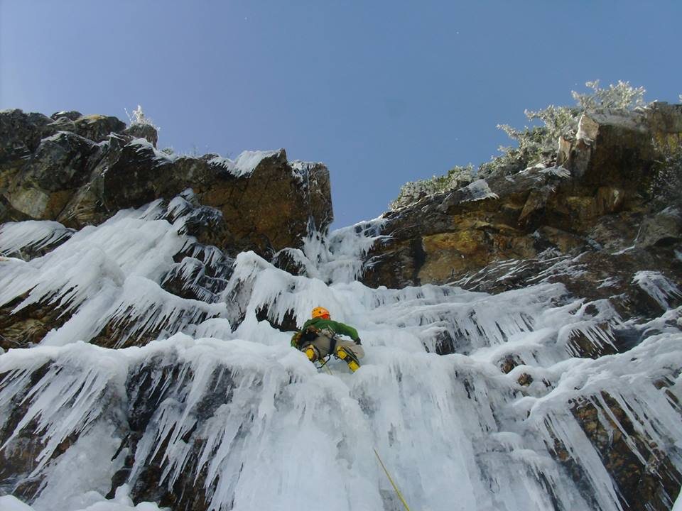 Ice climbing second ascent blog for Best windows for cold climates